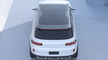 Geely Concept Icon - rear above