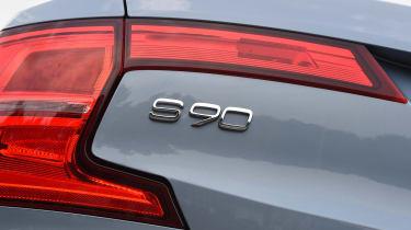 Volvo S90 - UK rear light detail