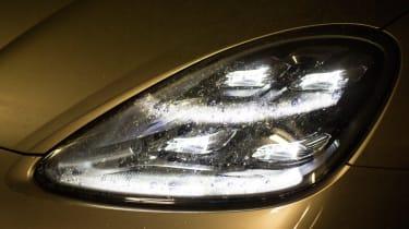 Porsche Cayenne E-Hybrid prototype - headlight