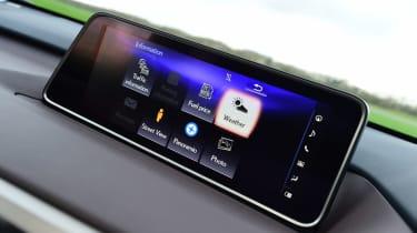 Lexus RX - infotainment screen