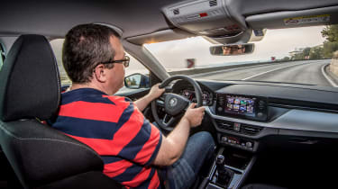 Skoda Scala - John driving