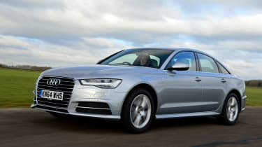 Audi A6 - driving
