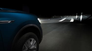 Volkswagen interactive lights - Optical Lane Assist