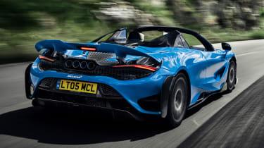 McLaren 765LT Spider - rear action