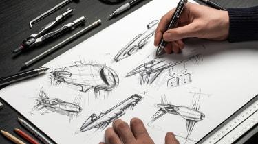 Airspeeder Mk3 - sketches