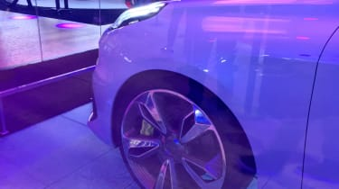 Lynk and Co 03 concept saloon car wheel