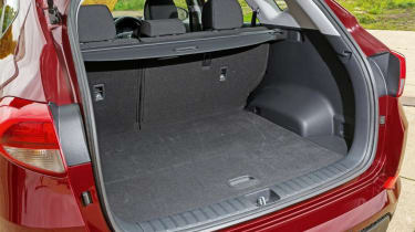 Used Hyundai Tucson - boot
