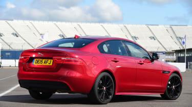 Jaguar XE - rear static