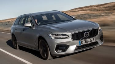 Volvo V90 R-Design 2017 - front tracking