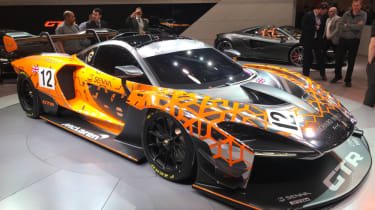 McLaren Senna GTR news header