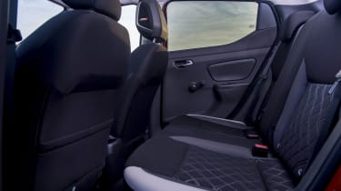 Nissan Micra - back seats