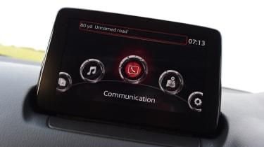 Mazda CX-3 - infotainment