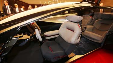Aston Martin Lagonda Vision concept - Geneva interior