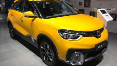 Chinese copycat cars - Dongfeng Fenshen AX4