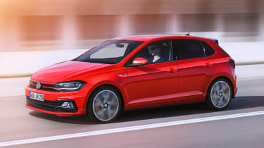 New Volkswagen Polo GTI - front action