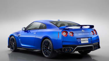 Nissan GT-R 50th Anniversary Edition - studio rear