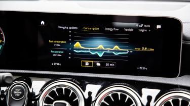 Mercedes A 250 e - infotainment