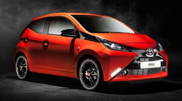 New Toyota Aygo front three quarters