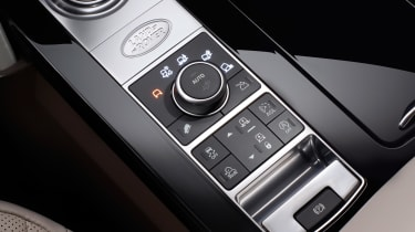 Land Rover Discovery 2017 - official centre console