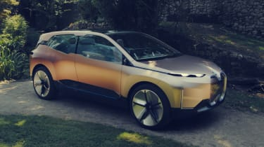 BMW Vision iNEXT concept - front action