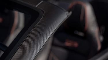 Aston Martin DBS Superleggera Volante - interior detail
