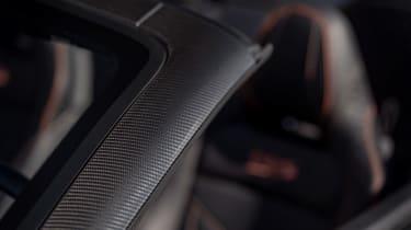 Aston Martin DBS Superleggera Volante - interior detail