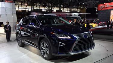 Lexus RX in New York - front