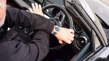 Mazda MX-5 RF - steering