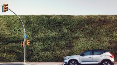 Volvo XC40 Recharge - street