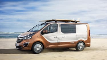 Vauxhall Vivaro Surf Concept - profile