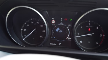 Land Rover Discovery TD6 - dials