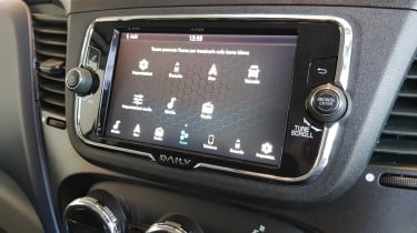 IVECO Daily - infotainment screen
