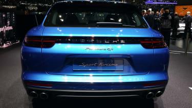Porsche Panamera Sport Turismo show - full rear