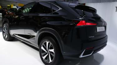 Frankfurt - Lexus NX 300h - rear