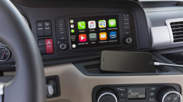 MAN truck CarPlay
