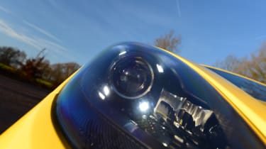 New Porsche Cayman GTS review - headlight
