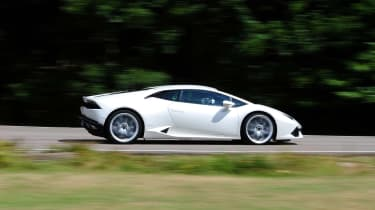 New Lamborghini Huracan side