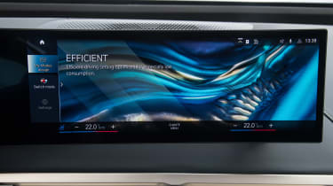 BMW iX - infotainment