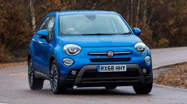 Fiat 500X - front cornering