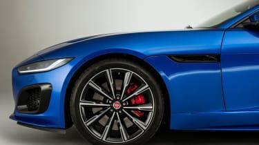 Jaguar F-Type - front side static