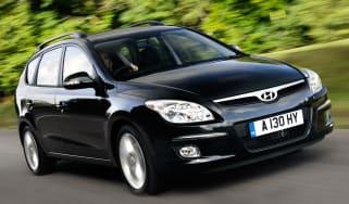 Hyundai i30 Estate front tracking