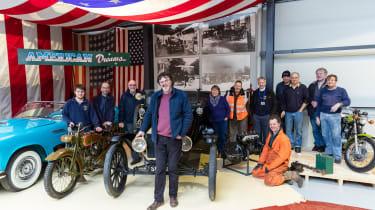 Grampian Transport Museum - Museum staff