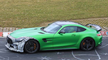 Mercedes-AMG GT R Clubsport side profile