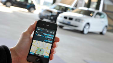 BMW DriveNow car sharing scheme