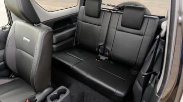 Used Suzuki Jimny - rear seats