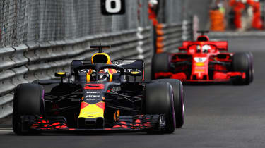 Daniel Ricciardo Red Bull - front