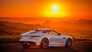 Jaguar F-Type Chequered Flag - rear static
