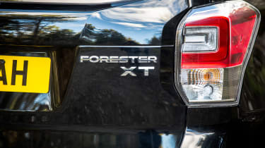 Subaru Forester XT - rear detail
