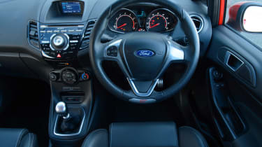 Used Ford Fiesta ST - dash