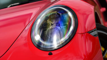 Porsche 911 Turbo S - front light
